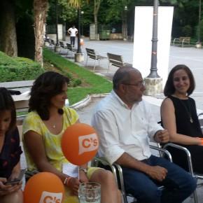 """Pilar Vicente y Francisco Igea: """"Para Ciudadanos (C's) la mujer tiene un papel crucial"""""""