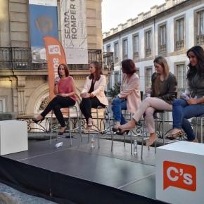 """Pilar Vicente (C's): """"Ojalá Carnero hable dentro del PP para sacar a Baltar de los cargos públicos"""""""