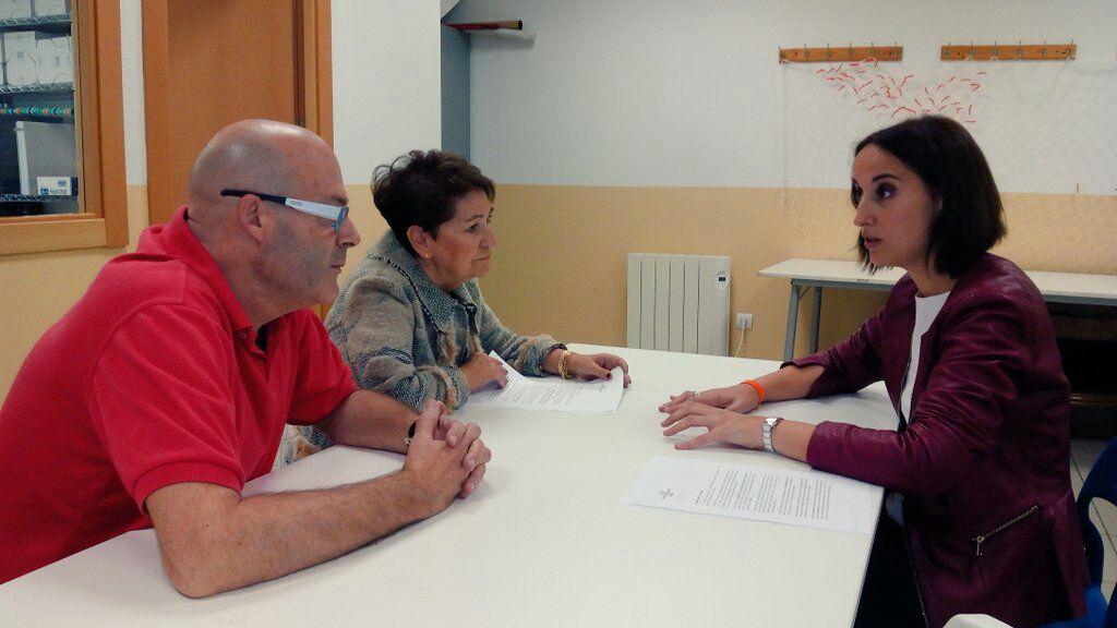 Reunión con la Asociación Villa de Prado