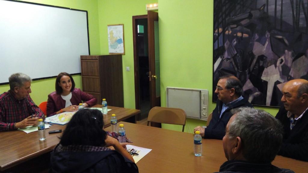 Reunión con la Asociación Ciudad de Parquesol