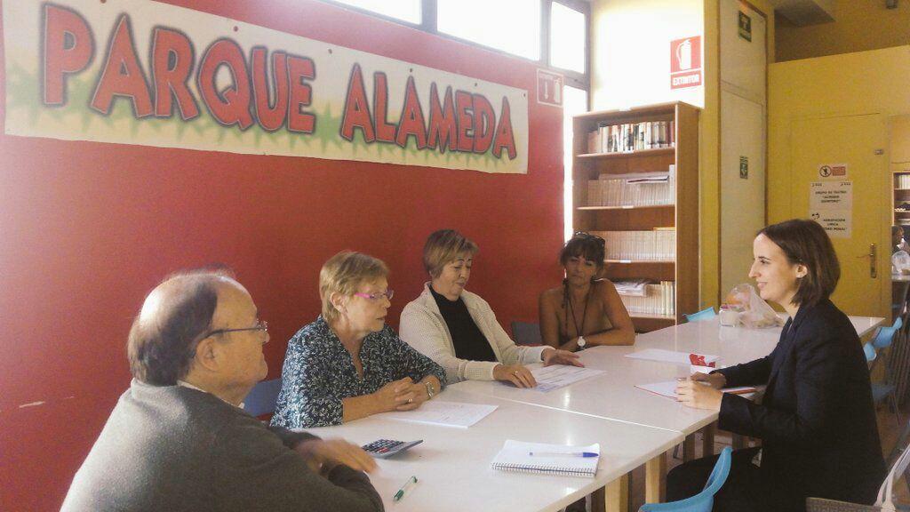 Reunión con la Asociación Parque Alameda