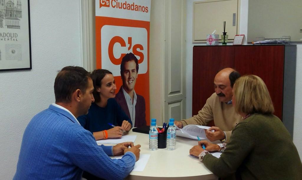 Reunión con la Federación de Asociaciones Conde Ansúrez