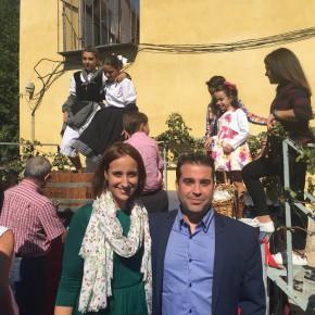 """Pilar Vicente: """"Rueda tiene que ser ejemplo de calidad y modernidad para las exportaciones en Castilla y León"""""""