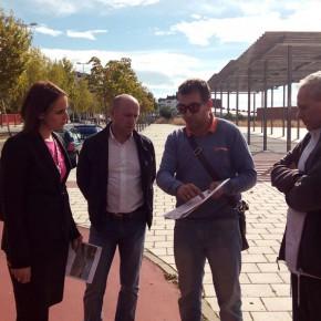 Ciudadanos solicita al Ayuntamiento una mayor frecuencia de líneas de AUVASA para la zona del Pinar de Jalón