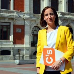 Pilar Vicente (C´s Valladolid) solicita la comparecencia del responsable del Servicio de Limpieza por el aumento de las quejas por la suciedad de la ciudad