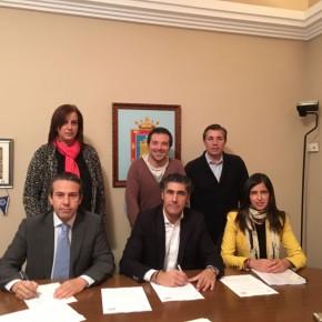 Ciudadanos y Populares de Simancas alcanzan un acuerdo político y económico para la aprobación del presupuesto 2017 del Ayuntamiento