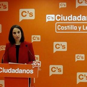 """Pilar Vicente: """"Cs ha demostrado ser capaz de ser oposición y a la vez conseguir mejoras útiles para los castellanos y leoneses"""""""