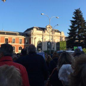 Ciudadanos apoya a los vecinos en la manifestación por el soterramiento