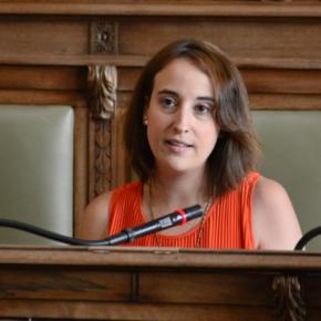 "Pilar Vicente (Cs) critica la ""censura"" de Ana Redondo a la oposición"
