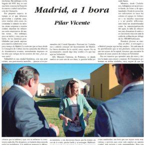 """""""Madrid, a 1 hora"""". Artículo de Pilar Vicente en Delicias al día."""