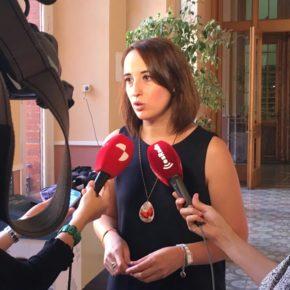 """Pilar Vicente (Cs): """"Es falso que el PGOU recoja las aportaciones de los vecinos"""""""