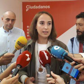 """Pilar Vicente (Cs): """"Exigimos al equipo de Puente que mejore las condiciones laborales de la Policía Municipal"""""""