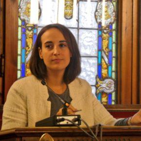 """Pilar Vicente (Cs): """"Debemos ofrecer a nuestros mayores alternativas para que puedan seguir viviendo en sus pueblos"""""""