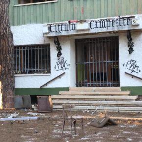 """Ciudadanos critica el """"lamentable"""" estado de conservación del Círculo Campestre del Pinar de Antequera"""