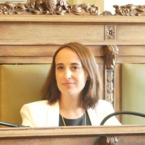 """Pilar Vicente (Cs): """"La reorganización del Área de Cultura supondrá mayor eficiencia manteniendo la autonomía cultural de los centros"""""""