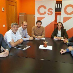 Ciudadanos avanza en el desarrollo del convenio para el fomento del rugby en la provincia de Valladolid