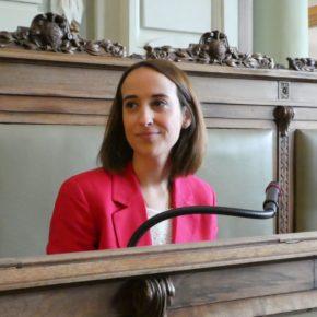 """Pilar Vicente (Cs): """"Sus complejos convierten a Óscar Puente en un """"okupa pasivo"""" que no se atreve a defender la legalidad y la convivencia"""""""