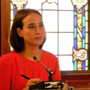 Pilar Vicente reprocha la tardanza de la Diputación en poner en marcha el Teléfono de Atención a la Provincia y el Canal Ético anticorrupción