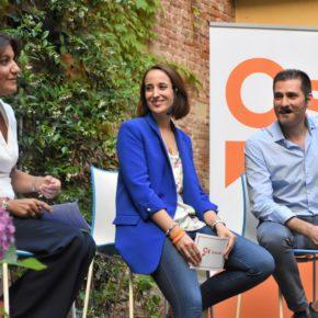 """Pilar Vicente (Cs): """"Un comercio fuerte en la ciudad es una garantía de futuro en Valladolid"""""""