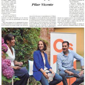 """""""Comercio y Futuro"""". Artículo de Pilar Vicente en Delicias al día."""
