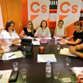 """Pilar Vicente: """"La provincia de Valladolid sigue sufriendo el inmovilismo del PP, apoyado en la resignación del PSOE"""""""