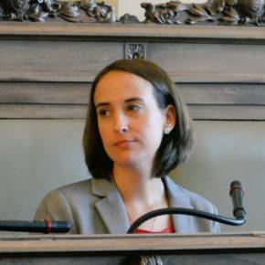 """Pilar Vicente: """"El principal problema de Valladolid es tener un equipo de Gobierno como el de Puente, que ni dialoga, ni escucha, ni actúa"""""""