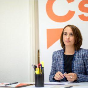 """Pilar Vicente (Cs): """"Tanto el PP como el PSOE son culpables de la pérdida de población de nuestra ciudad"""""""
