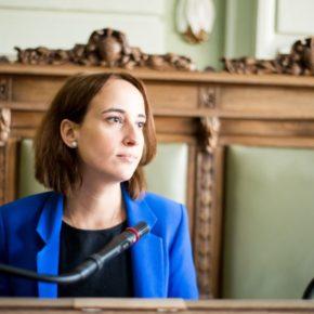 """Pilar Vicente (Cs): """"El mandato de Puente ha sido una mala noticia para la seguridad en Valladolid"""""""
