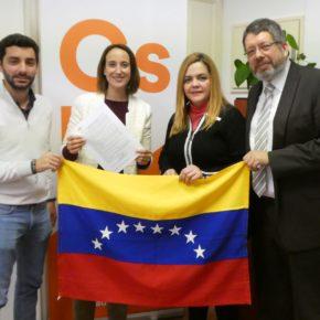 Pilar Vicente (Cs) apuesta por reconocer a Guaidó para que Venezuela tenga una transición democrática a unas elecciones libres