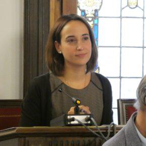 """Pilar Vicente (Cs): """"Los servicios sociales no pueden supeditarse a la inactividad de los viejos partidos"""""""