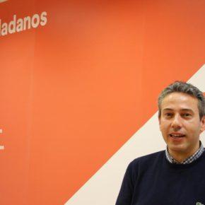 """Pedro Bardisa (Cs) critica """"la falta de soluciones"""" del Alcalde de Simancas ante """"los constantes desprendimientos"""" en el talud"""