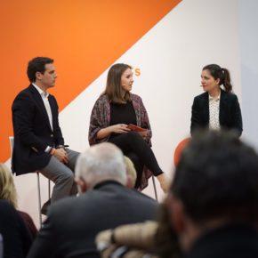 """Albert Rivera, junto a Soraya Mayo:  """"Mi Gobierno será el Gobierno de las mujeres autónomas"""""""