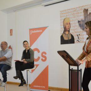Ciudadanos explica en Medina del Campo las medidas para bajar los impuestos a más de cinco millones de familias