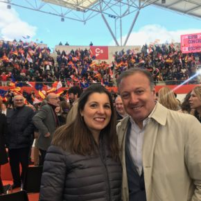 """Mayo: """"Cs es el proyecto de los que amamos la libertad y el único partido que lucha con valentía por la igualdad en toda España"""""""