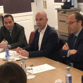 """Martín Fernández Antolín: """"Tenemos que buscar la colaboración público-privada con los profesionales hoteleros con el fin de obtener los mejores resultados en beneficio de la ciudad"""""""