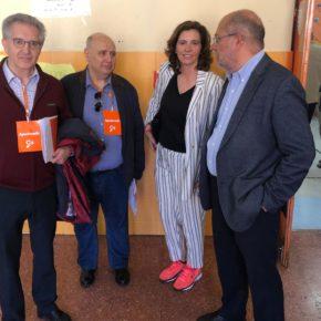 """Igea pide """"no quedarse en casa"""" y llama a votar """"con esperanza"""" por la apuesta de """"futuro y moderación"""" de Cs"""