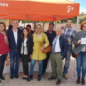"""Cs propone en Fuensaldaña una candidatura que apuesta por la transparencia y por crear un municipio """"para todas las edades"""""""