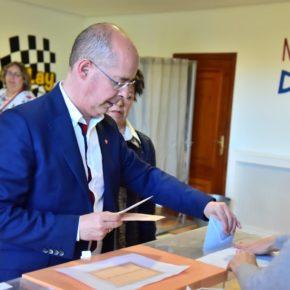 """Martín Fernández Antolín espera una """"participación alta"""" de los vallisoletanos para que apuesten por """"una democracia sólida"""""""