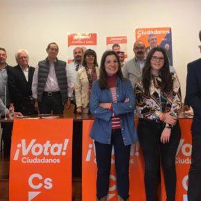 """Ciudadanos presenta un Peñafiel un proyecto para """"evitar la decadencia, mejorar el control y la atención ciudadana"""""""