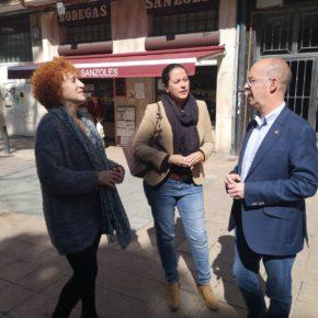 """Fernández Antolín compromete políticas sociales para que Valladolid """"sea una ciudad donde crear hogar"""""""