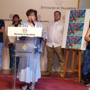 La concejal de Ciudadanos en Cigales, Marta Barrigón, presenta 'Teatro con Sabor a Vino'
