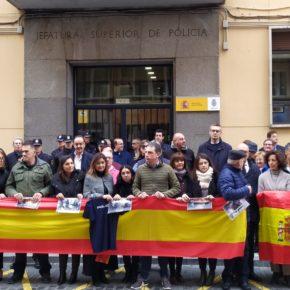 Ciudadanos de la provincia de Valladolid apoya a los heridos y agradece la labor de la Policía y Guardia Civil en Cataluña