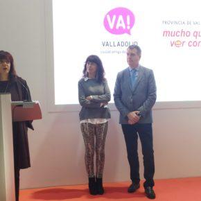Nuria Duque presenta el stand de Valladolid en la 23 edición de Intur