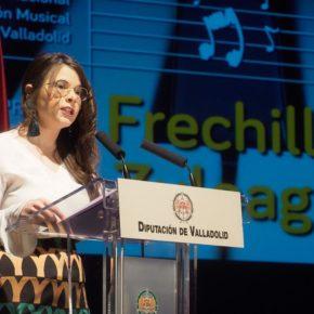 Gema Gómez presenta el concierto inaugural del Premio Internacional de Piano Frechilla-Zuloaga