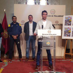 Tomás Veganzones, concejal de Cs en el Ayuntamiento de Peñafiel presenta el I Campeonato de Castilla y León de Mushing en Tierra