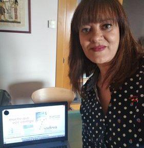 La Diputada Provincial de Turismo, Nuria Duque, se reúne telemáticamente con agentes del sector turístico