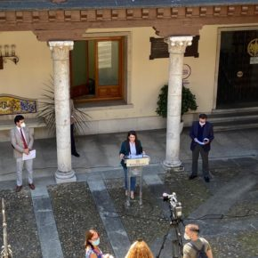Ciudadanos y el resto de grupos de la Diputación acuerdan las medidas sociales del Plan de Choque para paliar la crisis por la Covid-19
