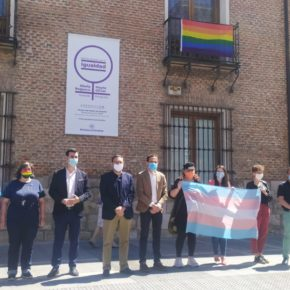 La Portavoz de Cs en la Diputación de Valladolid participa en un acto para dar visibilidad al colectivo LGTBI