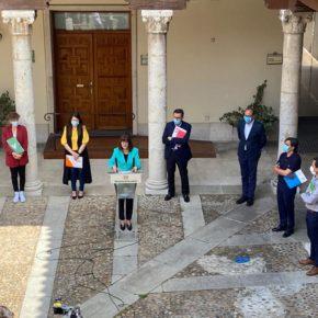 Nuria Duque presenta las acciones para autónomos y pymes por valor de dos millones, dentro del Plan de Choque de la Diputación de Valladolid
