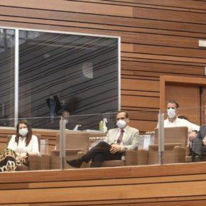 La vicepresidenta de la Diputación de Valladolid y portavoz de Cs asiste al Debate sobre el Estado de la Comunidad